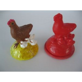 poule et poussins
