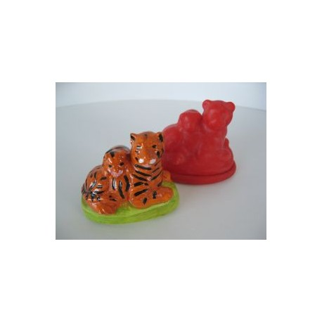 tigre et petit